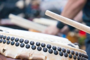 お囃子の太鼓