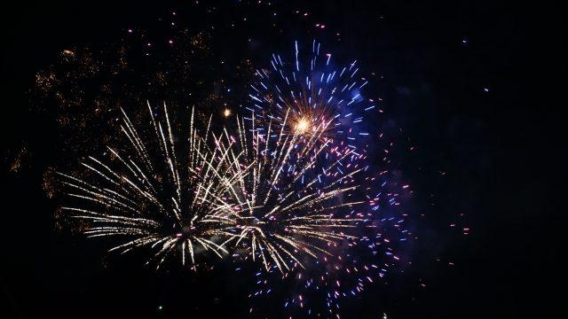 彩夏祭の花火